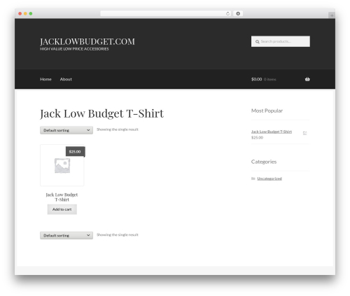Theme WordPress Boutique - jacklowbudget.com