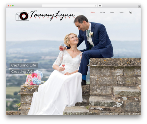 Avada WordPress gallery theme - tammylynn.co.uk