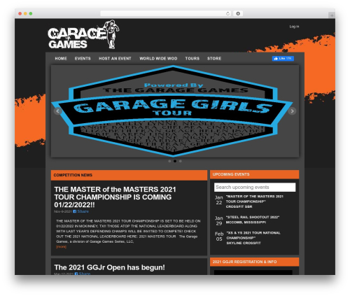 Best WordPress template LondonCreative+ v4.2 - thegaragegames.com