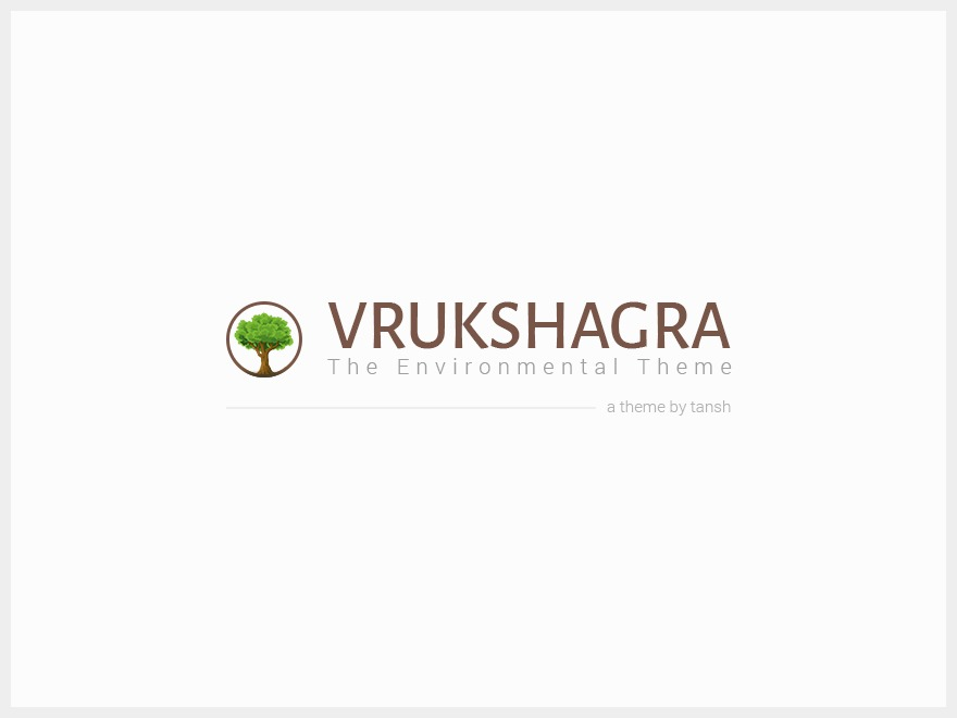 Best WordPress template vrukshagra