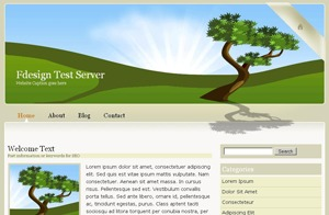 Best WordPress template WP Beautiful World