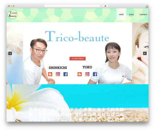 Free WordPress Page scroll to id plugin - trico-beaute.com