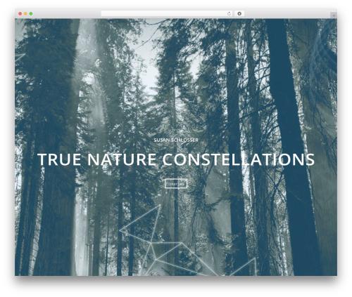 Enfold top WordPress theme - truenatureconstellations.com