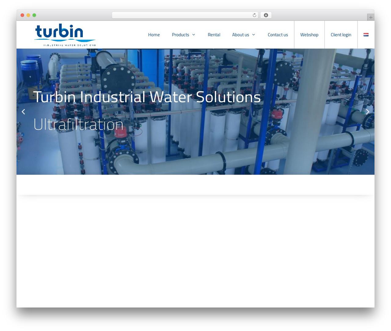 GeneratePress WordPress template free - turbin.nl
