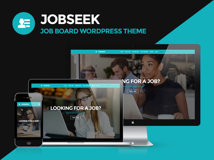 Jobseek theme WordPress