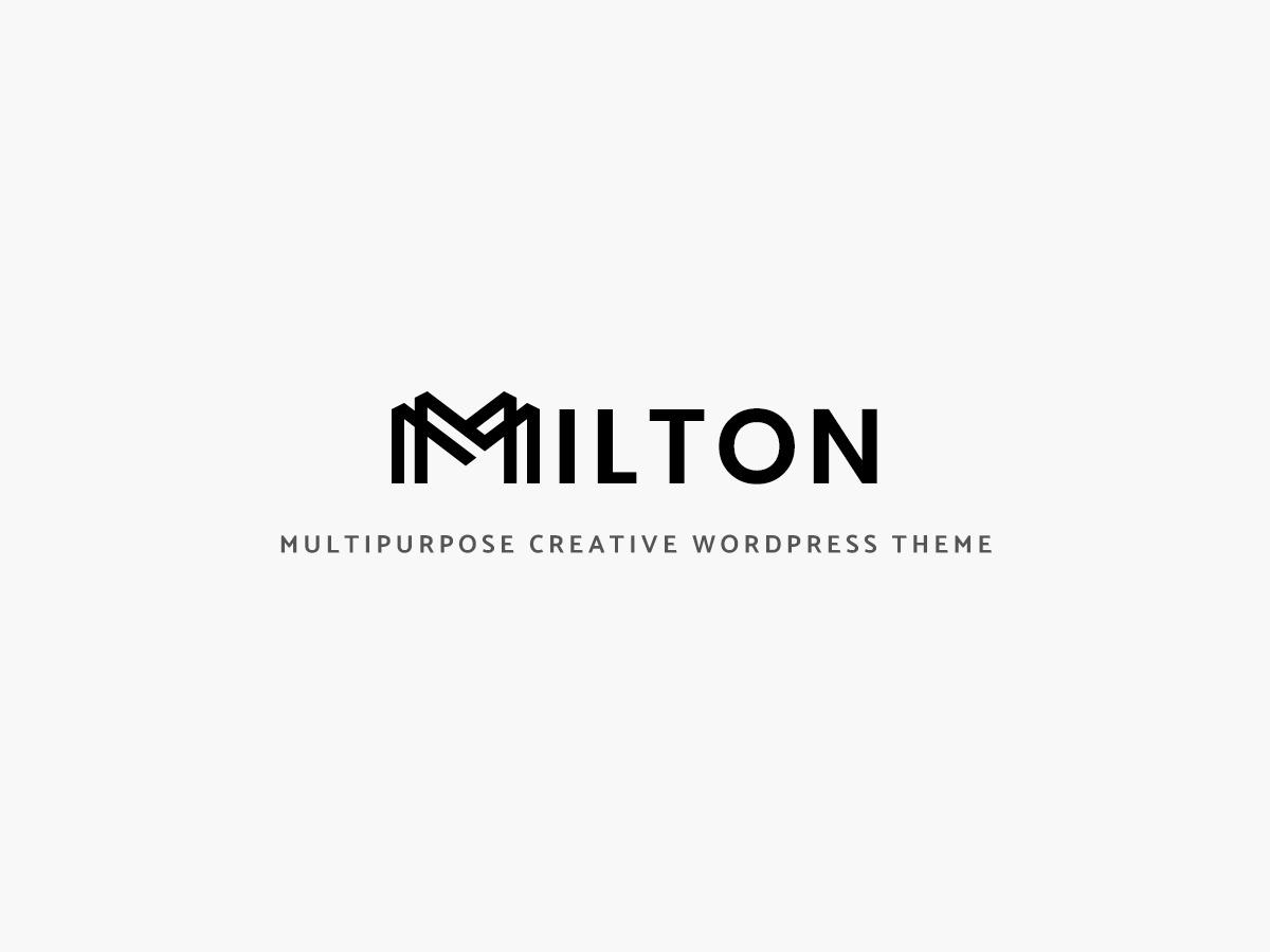 Milton WordPress theme by AgniDesigns