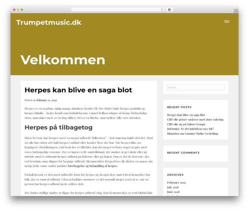 Readit free WP theme - trumpetmusic.dk
