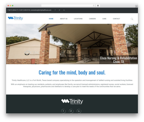 Template WordPress G5Plus Orion - trinityhealthcare.com