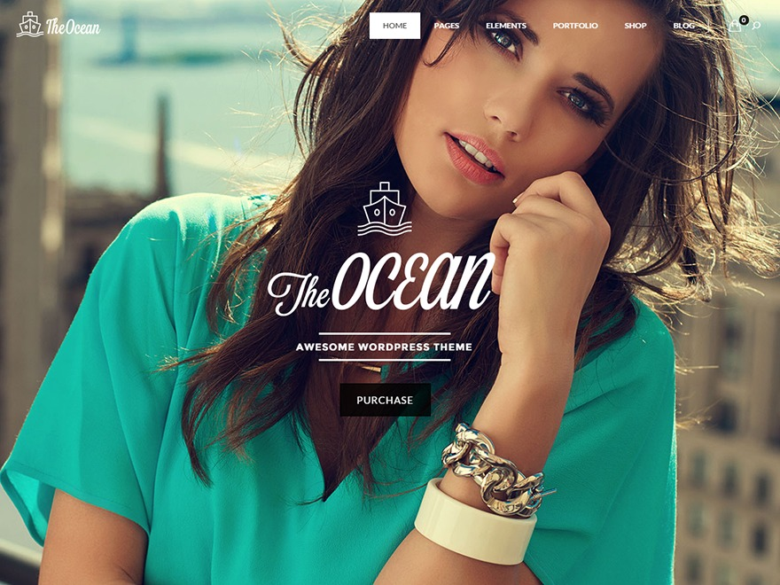 The Ocean business WordPress theme