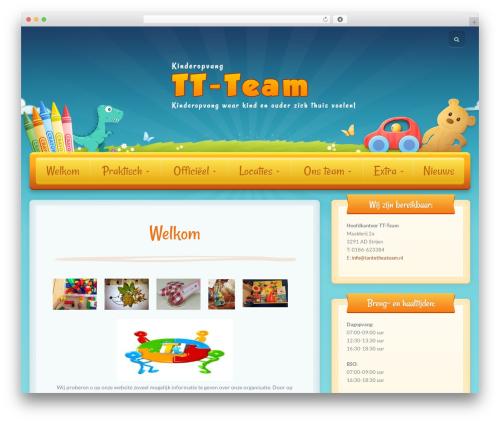 Theme WordPress Toddlers - tantetheateam.nl