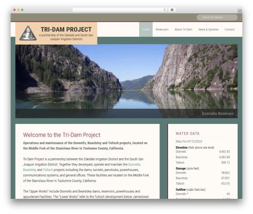 Free WordPress Weather Underground plugin - tridamproject.com