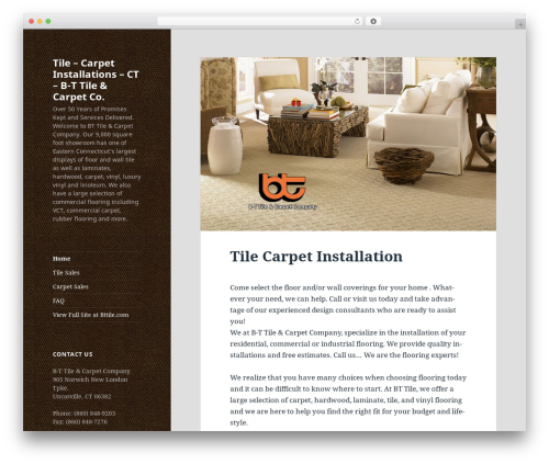 Twenty Fifteen free website theme - tilecarpetinstallationct.com