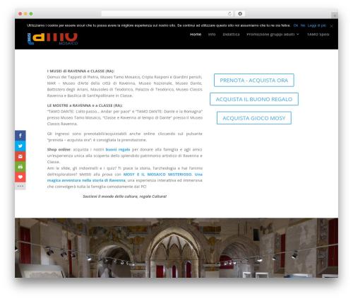 Free WordPress Slick Sitemap plugin - tamoravenna.it
