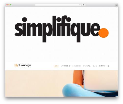 WordPress x-email-mailchimp plugin - t2tecnologia.com.br