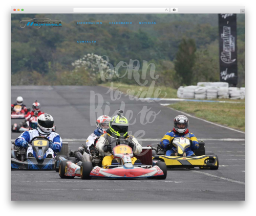 Bridge best WordPress theme - karting-guatemala.com
