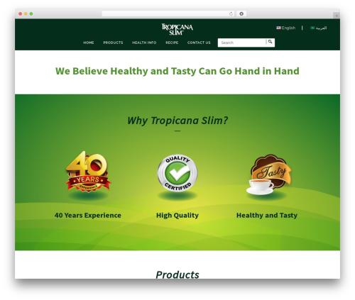 Bridge WordPress theme - tropicanaslim-mena.com
