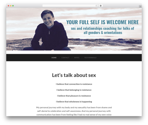 Hemingway free WordPress theme - sexandrelationshipscoaching.com