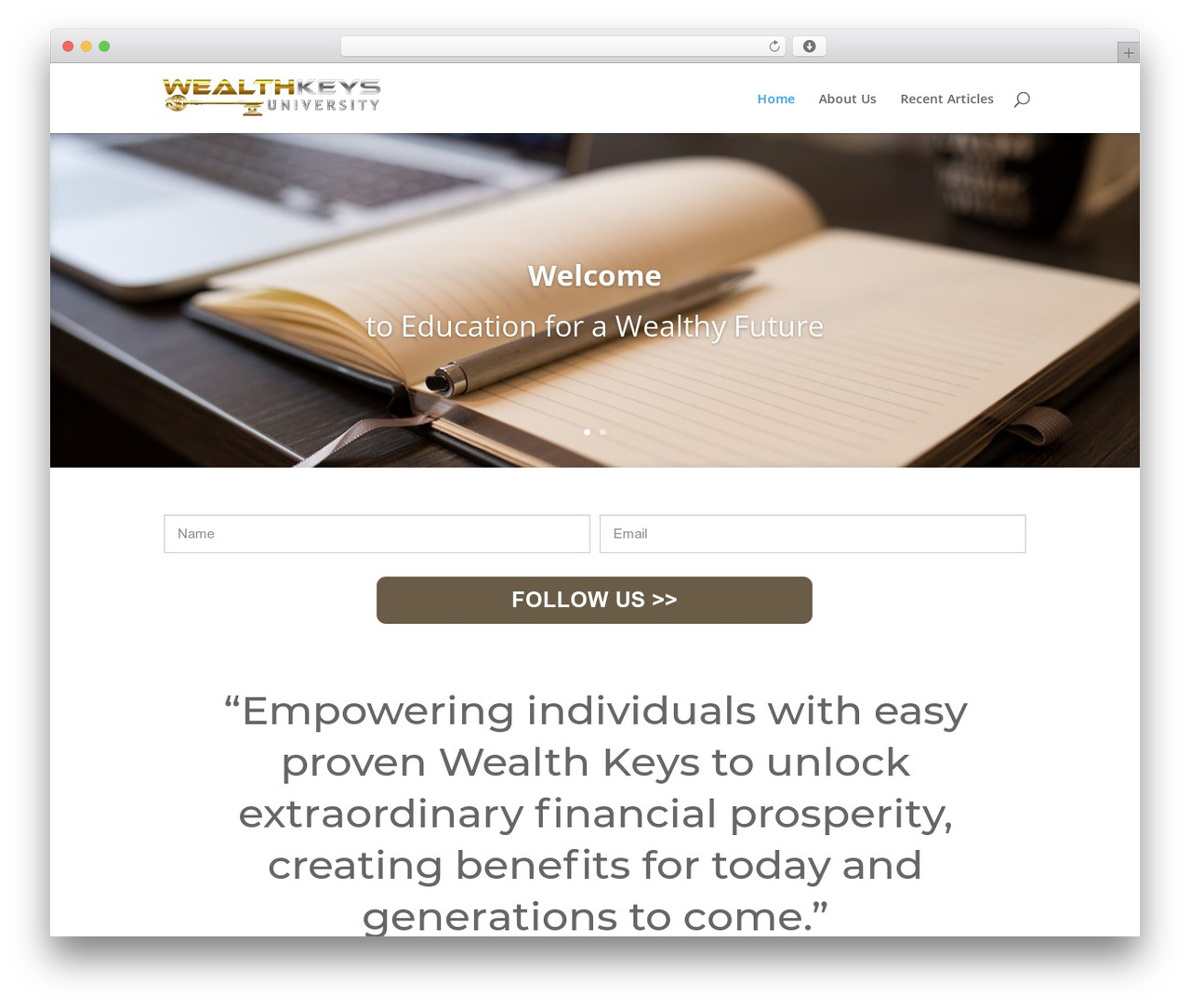 Theme WordPress Child Theme for Divi - wealthkeysuniversity.com