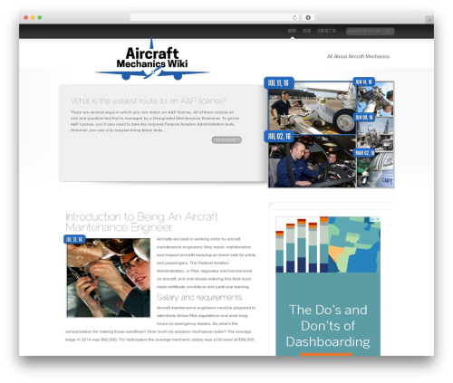 Delicate News best WordPress magazine theme - aircraftmechanicswiki.com