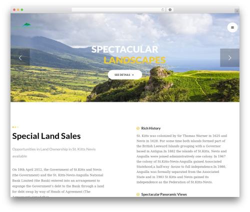 WordPress theme opalhomes - landsalesstkitts.com