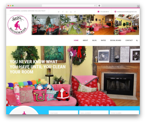 WP Maxclean WordPress theme - dzikahousemaids.com