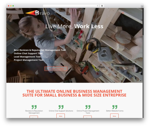 Betheme WordPress theme - bravobs.com