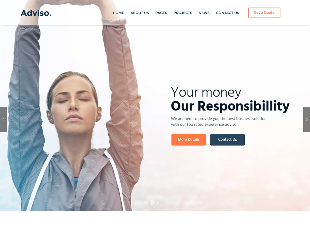 Adviso WordPress theme