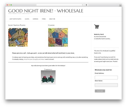 Conica free website theme - irenewholesale.com