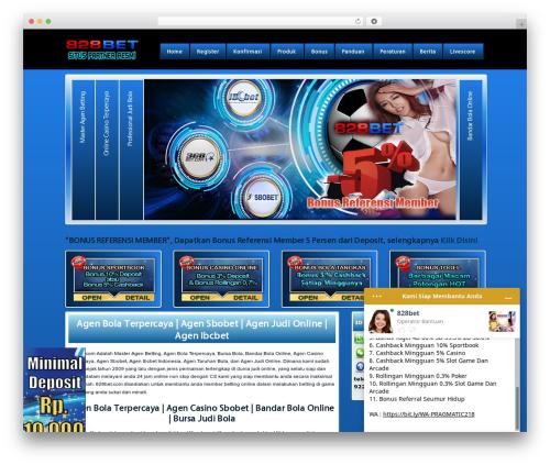 828bet WordPress Theme By 828bet Beranda828 Com