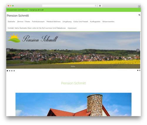 AccessPress Staple Pro theme WordPress - pension-schmitt.com
