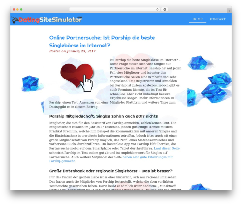 eyesite free website theme - datingsitesimulator.com
