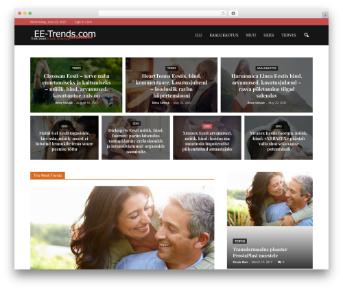 Newspaper WordPress news theme - ee-trends.com
