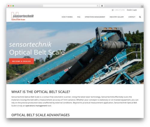 Theme WordPress jupiter - opticalbeltscale.com