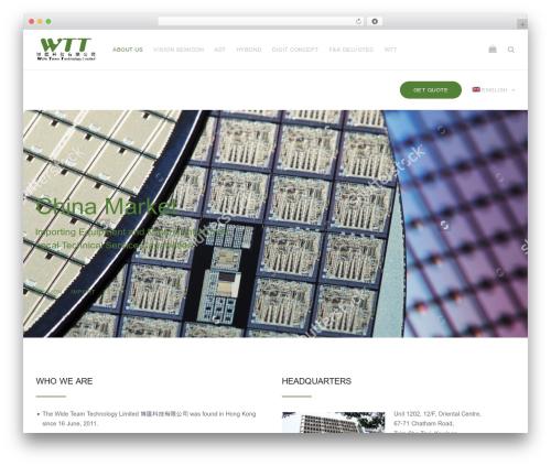 UpScale top WordPress theme - wteamtec.com