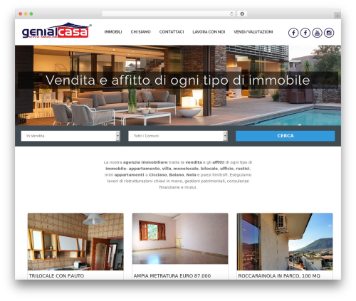 Hexo best free WordPress theme - genialcasa.com
