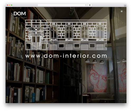 Prima WP template - dom-interior.com