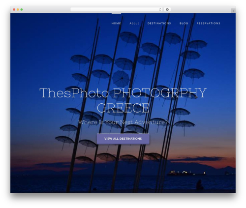 Avada WP template - thesphoto.com