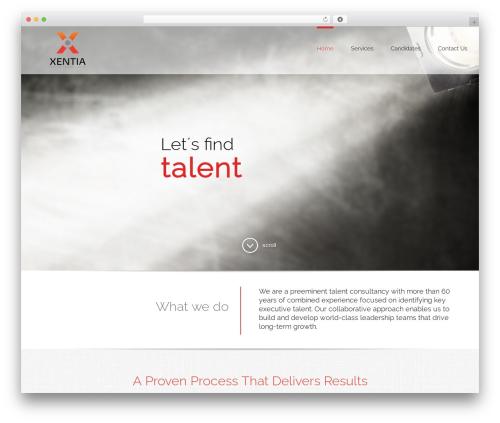 Avada WP template - xentia.com
