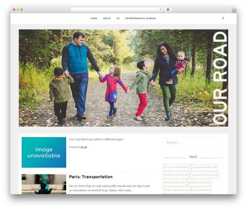 Satrah WordPress theme - thecollaborateapp.com