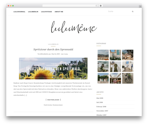 Activello free WordPress theme - lulumeme.com