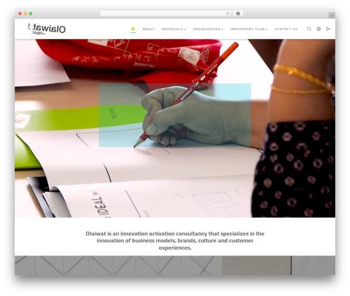 Movedo WordPress theme - olaiwat.com