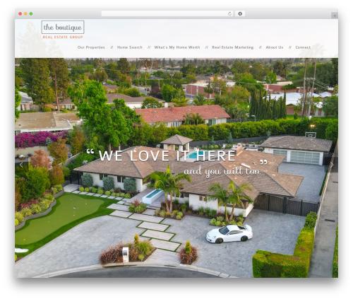 boutique real estate WordPress theme - sheilacraig.com
