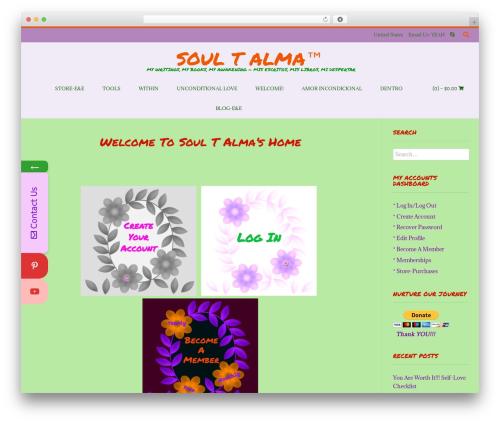 Conica template WordPress free - soultalma.com