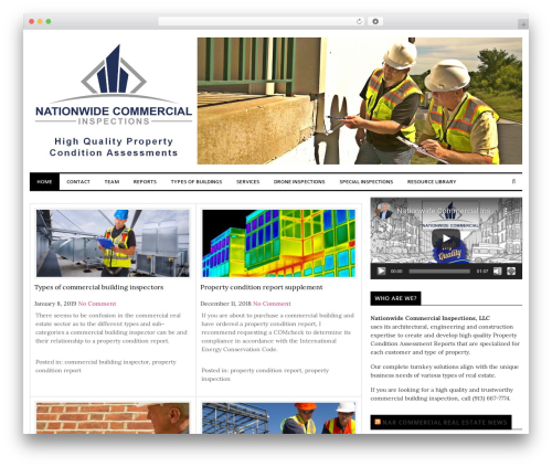 laveo free WordPress theme - nationwidecommercialinspections.com