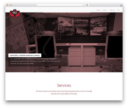 Modular WordPress template for business - shieldtechng.com