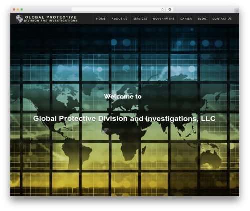 WordPress website template WP Omnia - gpdenforcement.com