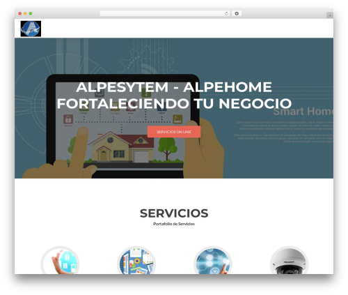 Zerif Lite theme free download - alpe-system.com