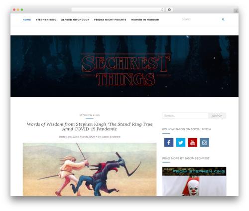 Activello free website theme - sechrestthings.com