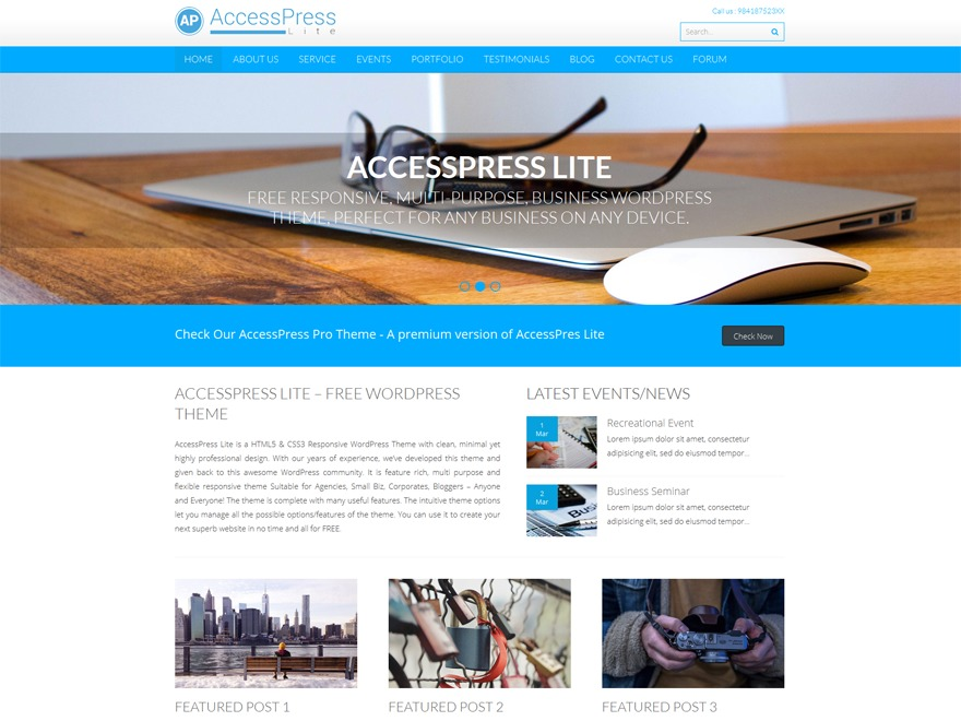 accesspress-lite-child WordPress theme