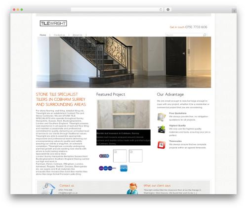 Agivee best WordPress template - tilewright.co.uk